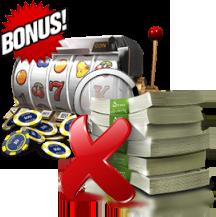 geen storting bonus